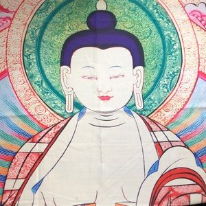 Other - Approx 30x38 semi sheer Buddha Tapestry